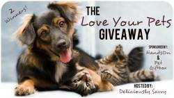 2 Winners Love Your Pet Giveaway!