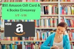 $50 Amazon Gift Card And 4 Books Giveaway (1/31 US)