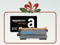 $50 Amazon Gift Card And INK E-SALE Toner Giveaway