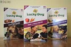 Lucky Dog Treats Prize Pack Giveaway - 3 Winners!