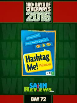 100+ Days Of Giveaways - Day 72 - Hashtag Me Card Game