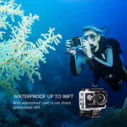 VicTsing Is Now Giveaway A Waterproof Action Camera (worth $95.99)
