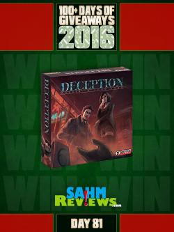 100+ Days Of Giveaways - Day 81 - Deception: Murder In Hong Kong Board Game