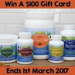$100 Perfect Supplements Gift Card