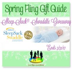 Halo SleepSack Swaddle Giveaway (3/31 US)