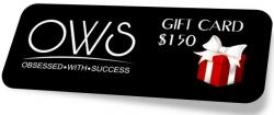 $150 OWS Gift Card : Perfect Prize For Business Owners, On-line Marketers, Affiliates And Writers