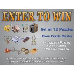 Prize Package Worth Over $160 From Puzzle Master