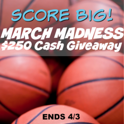 March Madness Cash Giveaway