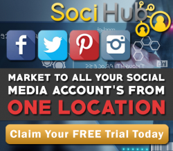 Claim Your FREE Trial Of SociHub By Global Marketing Ninja