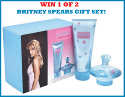 BRITNEY SPEARS Gift Packages! (2 WINNERS)