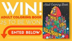 25 Swear Word Adult Coloring Books
