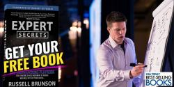 Secure Your FREE Copy Of Expert Secrets By Russell Brunson