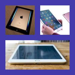 IPAD 2 --- Click In Case --- With Keyboard ---AND HEADSET