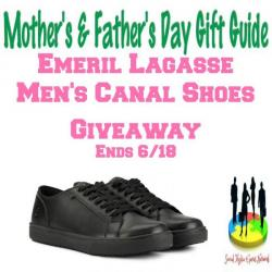 Emeril Lagasse Men's Canal Shoes Giveaway