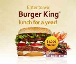 Win Lunch For A Year