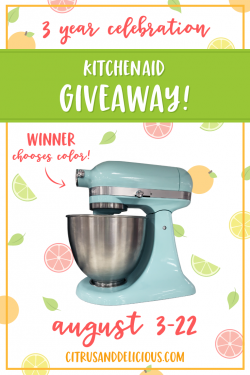 KitchenAid Artisan Series 5-Qt. Stand Mixer With Pouring Shield (Winner Chooses Color!)