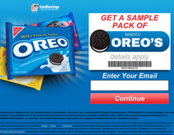 Oreo Cookie Sampler