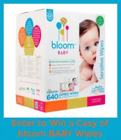 Bloom Baby Wipes Case Giveaway (8/30 US)