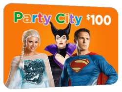 $100 For Party City