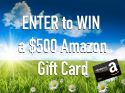 Win A $500 Amazon Gift Card From Whole Heart & Home
