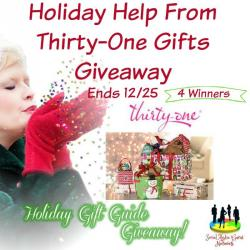Thirty-One Gifts Holiday Giveaway