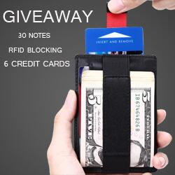 Kinzd Pull-tab Money Clip Wallet Giveaway