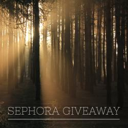 $150 Sephora Gift Card Giveaway (12/19 WW)