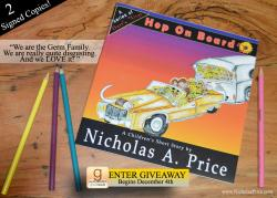 Hop On Board Book Giveaway