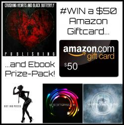WIN A $50 #Amazon Giftcard & Ebook Prize Pack From @CHBBPublishing!