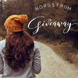 $150 Nordstrom Gift Card Giveaway (12/29 WW)