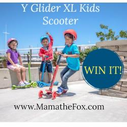 Y Glider XL Scooter By Y Volution Giveaway (12/23 US)