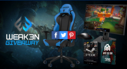 GAMING GIVEAWAY WIN A GAMING CHAIR, MONITOR, MOUSE AND MORE