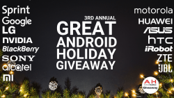 Great Android Holiday Smartphones Giveaway