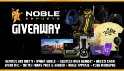 Noble's Epic Year End Giveaway