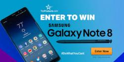 Samsung Galaxy Note 8 Giveaway