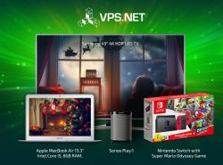 Enter VPS Net's Christmas Competition Today And Win Our Mega Prize Package