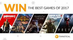 Win The Best Games Of 2017!
