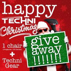 Enter To Win A TechniSport Gaming Chair And Swag Bundle!