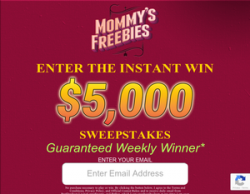 ENTER THE INSTANT WIN $5000