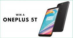 OnePlus 5T Giveaway!!