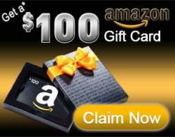 Get $100 Amazon Gift Card!