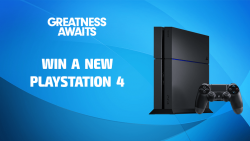Win A New PlayStation 4!