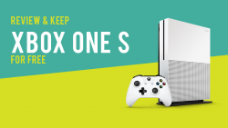 Review And Keep XBOX One S For Free!