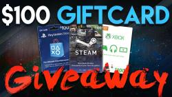 100$ GIFTCARD GIVEAWAYS