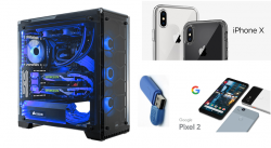 Ultimate Gaming PC, IPhone X (64 GB), Pixel 2 (64 GB) Giveaway From PROTATO CREED