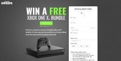 Get The Brand New XBox One X!