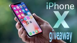 Chance To Win An Iphone X