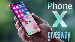 APRIL IPHONE X GIVEAWAY