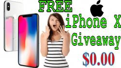 Get Free Iphone X Just A Few Minute