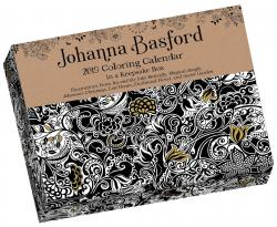 Johanna Basford 2019 Day-to-Day Coloring Calendar